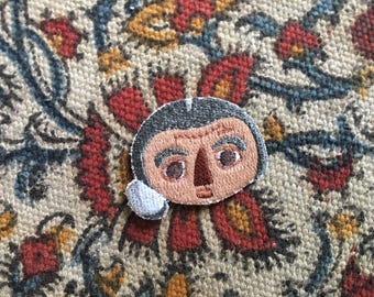 Golda Meir - Girl Gang Heroes - Feminist Patch - Embroidery