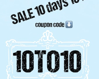 Sale 10% for all item
