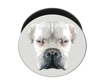 Pop Up Boxer Dog Grip