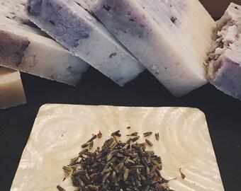 Lovely Lavender/Handmade Soap/All Natural/Skin Care/Calming/Bar Soap
