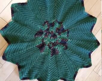 Baby Blanket 12 Point Star