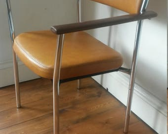 Vintage chrome 1970's chair