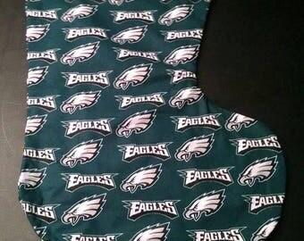 Large Christmas Stocking Philadelphia Eagles