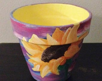 Customized Memorial Terra Cotta Pots