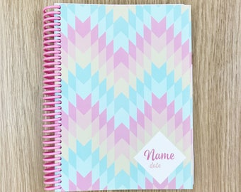 2018 Customised Diaries & Planners | Create Your Own Planner 'Cotton Candy'