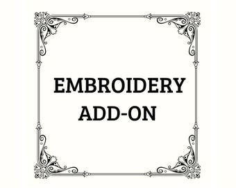Embroidery Add-On (Front)