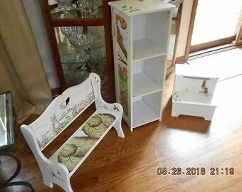 Hand Painted children's furniture