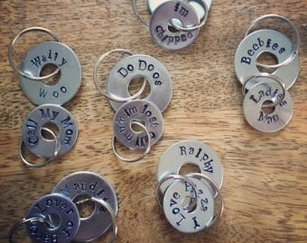 Personalised Dog ID tags // Quirky // Cheeky // Tongue in cheek