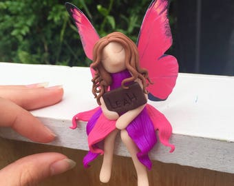 personal, personalized shelf sitter fairy! Add your name to your fairy