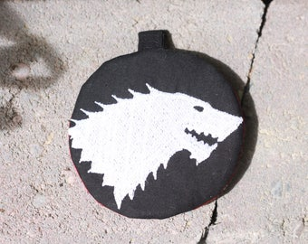 Game of Thrones Circle  Earbud Pouch
