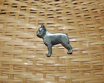 Boston Terrier stick pin, Pewder metal, Boxer, Boston Bull dog,