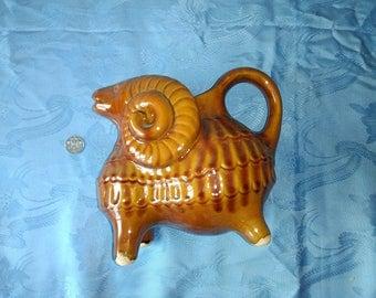 Vintage, Ukrainian Ceramic ram