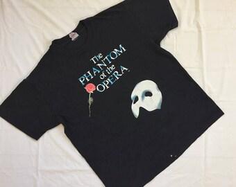 Vintage  Phantom of the opera shirt  U.S.A. made