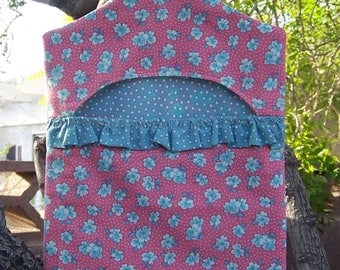 Grams Vintage Style Clothespin Bag Reproduction Pink  ET
