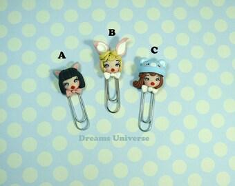 Kawaii clips / kawaii bookmark