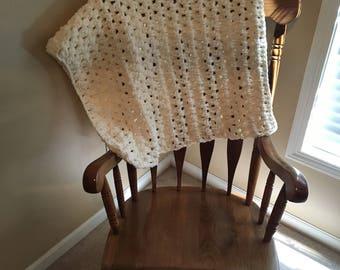 Vanilla Baby Blanket
