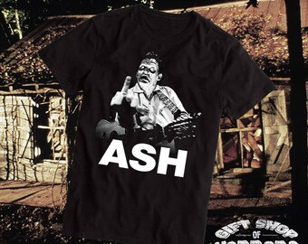Ash / Johnny Cash T-Shirt