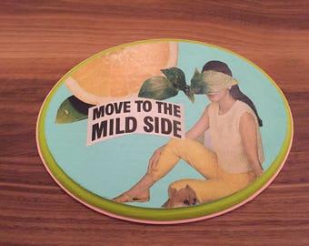 mild side