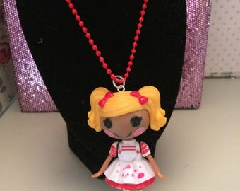 Lalaloopsy doll necklace