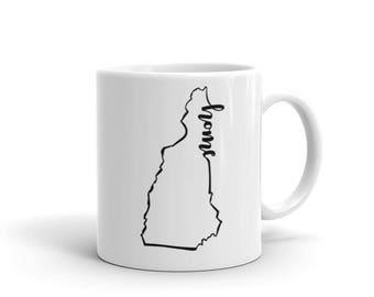 New Hampshire Home State - Coffee Mug