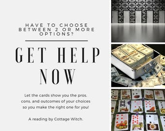 Tarot Reading Crossroads | Choose A Path | Decision Making Reading | Advice