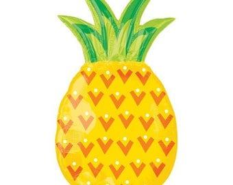 """Summer Party BALLOON,  31"""" Pineapple Balloon"""