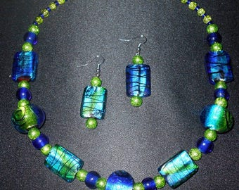UNDER THE SEA Necklace and Earring Set
