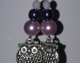 Purple and Owls
