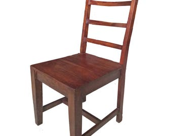 Honey Brown wooden Chair - solid wooden Fast shipping and cheap