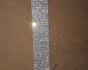 Rhinestone Diamante Choker