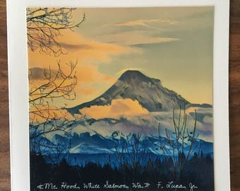 Mt. Hood, Oregon Note Card