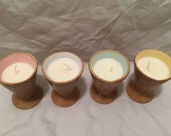 Ice Cream Cone Candles
