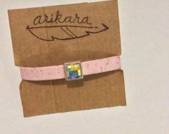 Pink Rubber Bracelet