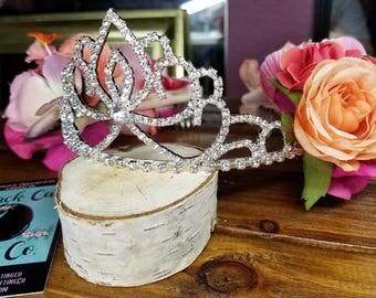 Floral Tiara Crown