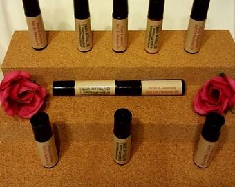 Homemade Roll on Perfume, Rollerball Perfume, Rose Perfume Oil, Natural Roll On Perfume, Rose & Jasmine Perfume, Bath and Body, Gifts