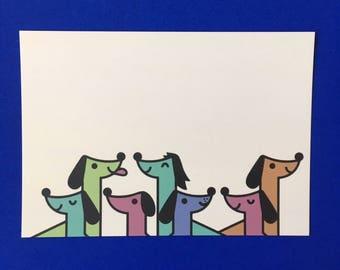 Dog Squad Postcard