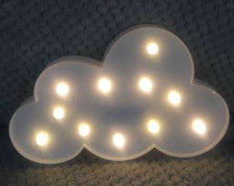 LED On Cloud Nine Wall Hanging Light