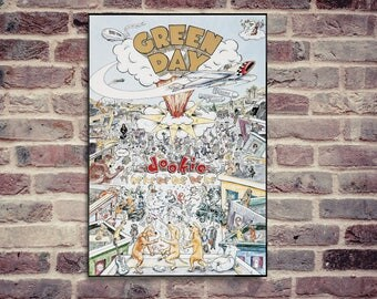 Green Day poster. Dookie poster. Amazing Dookie poster.