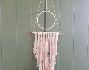 Cotton and Bamboo Wall Hanging