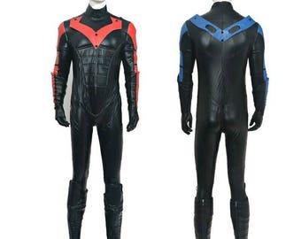 Nightwing Cosplay Costume Arkham City/knight style