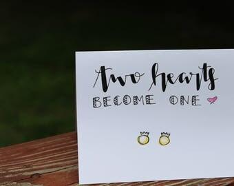 Wife and Wife Wedding Card