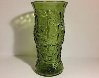 Vintage EO Brody Vase Besutiful Olive Green 1095's