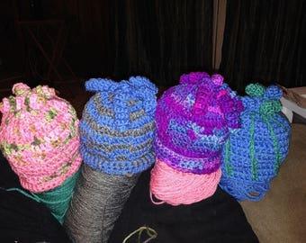 Winter baby hat