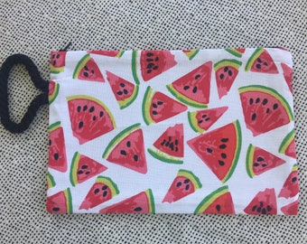 Watermelon Uncomplicated Pochette Clutch