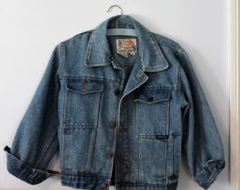Vintage 90s London Fog Denim Jacket
