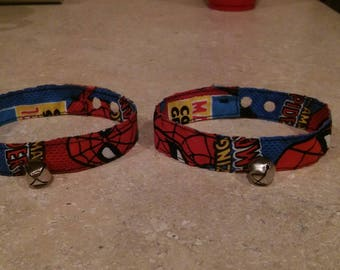 Spider-Man Cat Collars