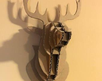 Deer Head (Small) Cardboard