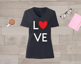 Love Shirt, womens shirts