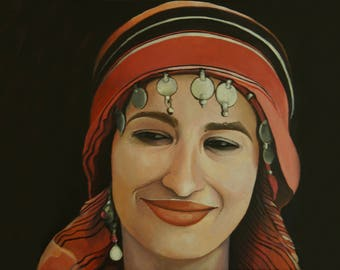 A Kabyle Woman Print 21x29.7 (cm)