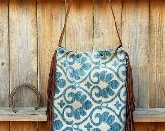 Boot bag / hobo bag